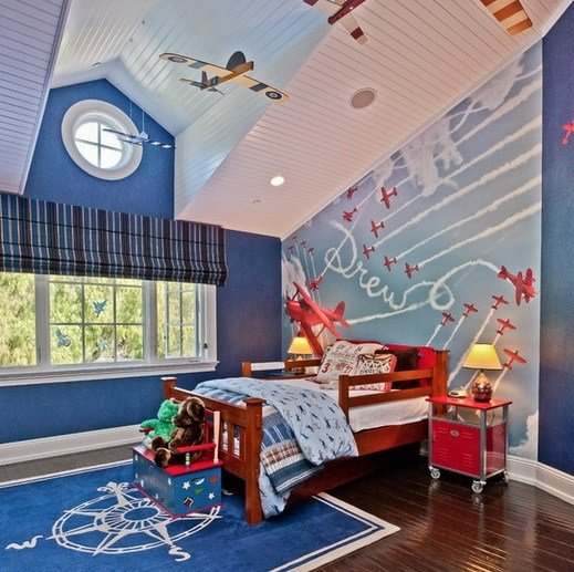 Best Airplane Themed Toddler Boy Bedroom Home Interiors With Pictures