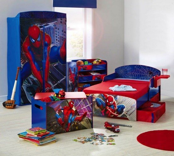 Best Spiderman Furniture Set For Toddler Boy Bedroom Ideas With Pictures
