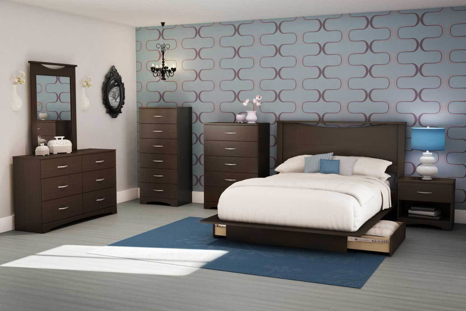 Best South Shore Contemporary Bedroom Furniture Set With Wooden With Pictures
