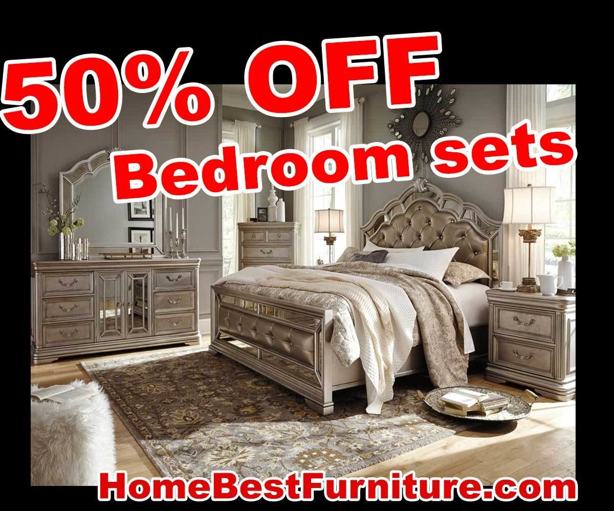 Best 50 Percent Off Discount Birlanny Silver King Bedroom With Pictures
