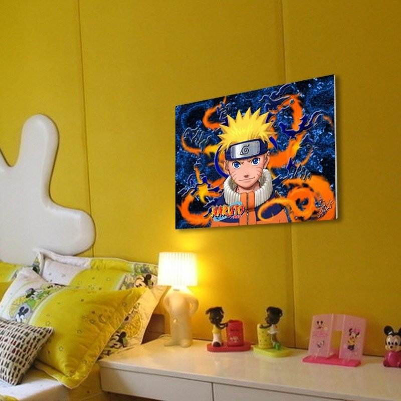 Best Naruto Bedroom Decor An Anime Themed Kids Room Ideas Homescorner Com With Pictures