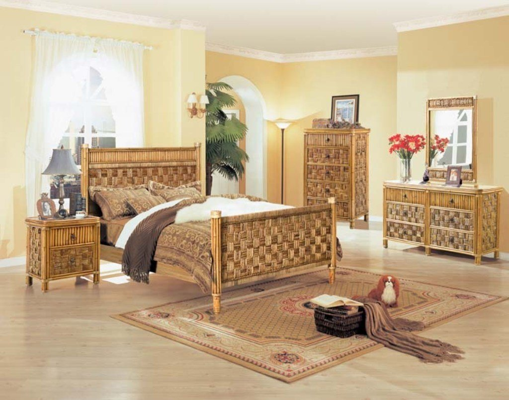 Best Antique Rattan Furniture For Cozy Bedroom Homedcin Com With Pictures