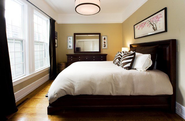 Best Bedroom Wall Colors With Dark Brown Furniture Home With Pictures