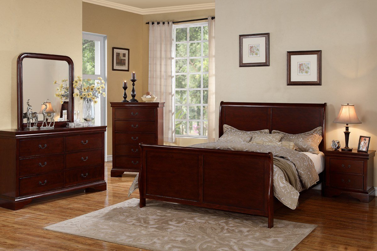 Best Bedroom Colors That Go With Cherry Wood Home Delightful With Pictures
