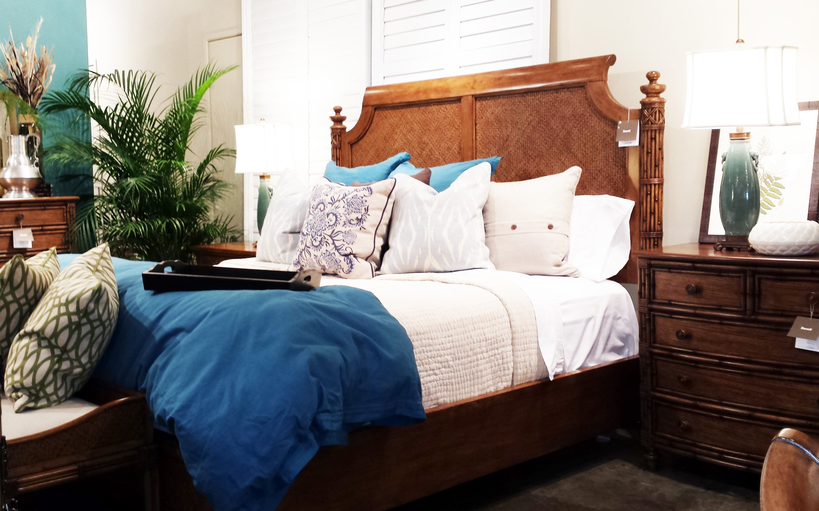 Best Mixing White And Dark Wood Furniture In Bedroom Home With Pictures
