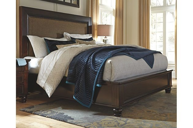 Best Porter King Panel Bed Ashley Furniture Home Delightful With Pictures