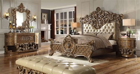 Best New Luxarious Royal European Button Tuft Bedroom Set King With Pictures