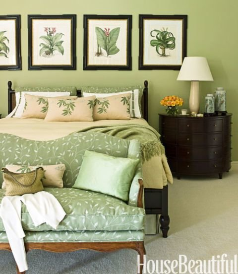 Best Green Bedrooms Green Paint Bedroom Ideas With Pictures