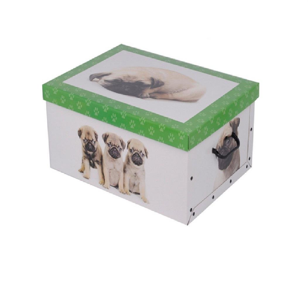 Best Italian Decorative Cardboard Storage Box Bedroom Underbed Home Organiser Toys Ebay With Pictures