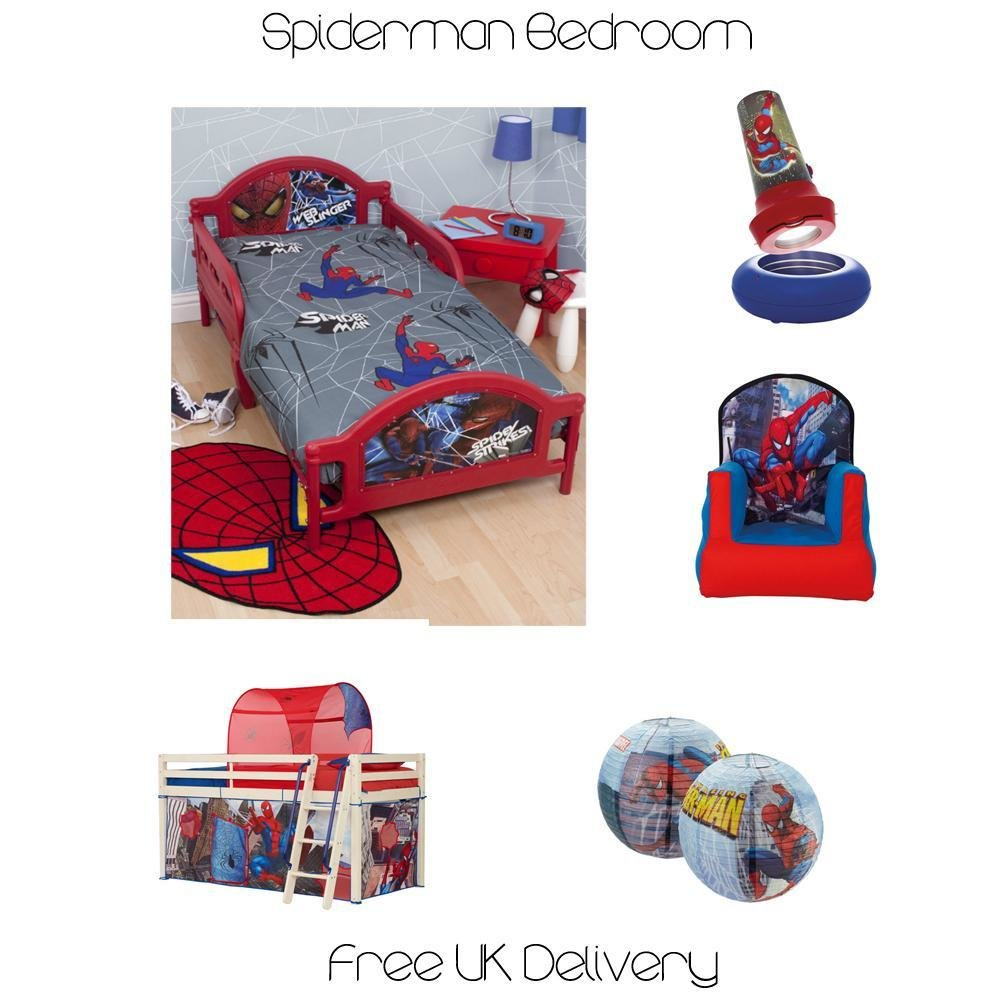 Best Official Spiderman Duvet Covers Bedding Bedroom With Pictures