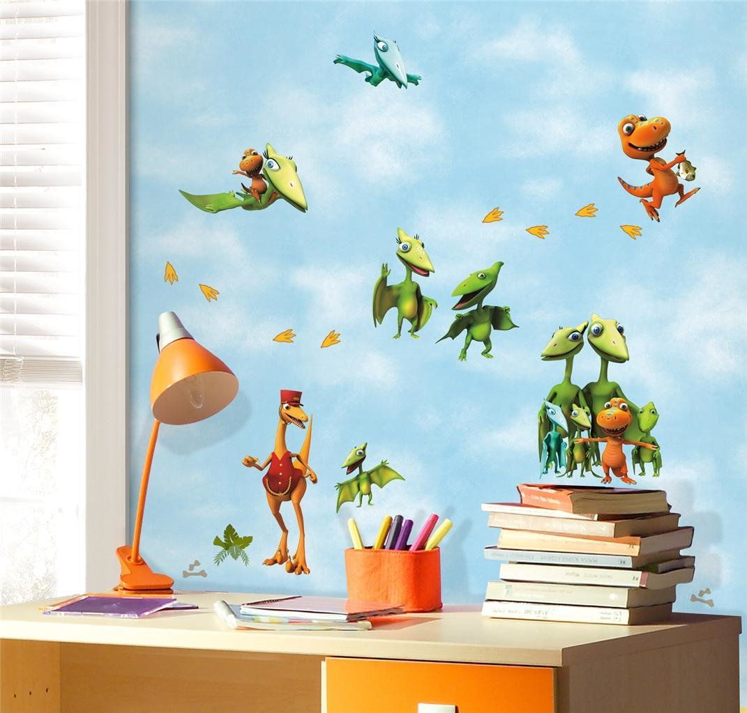 Best New Dinosaur Train Wall Decals Kids Dinosaurs Bedroom With Pictures