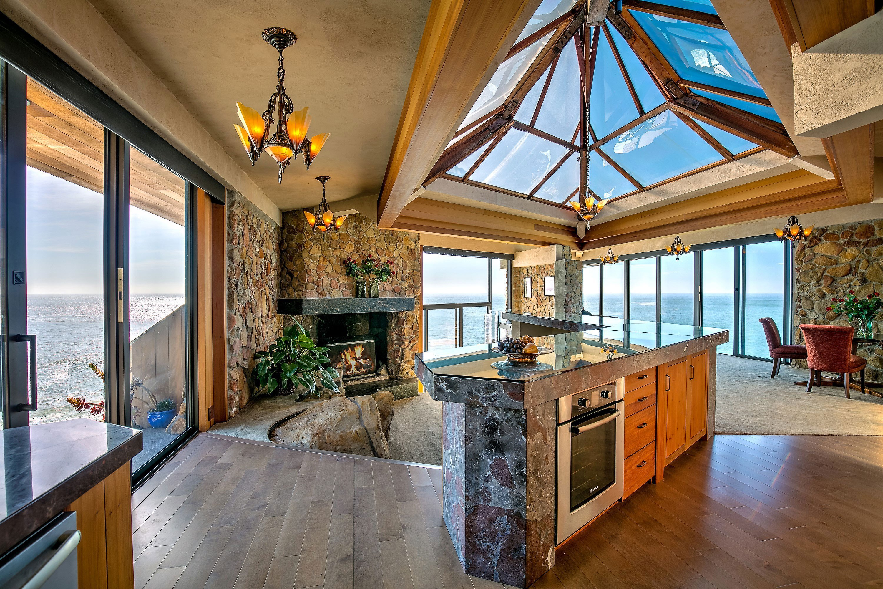 Best For Sale Glass House On A Cliff Above The Pacific Ocean With Pictures
