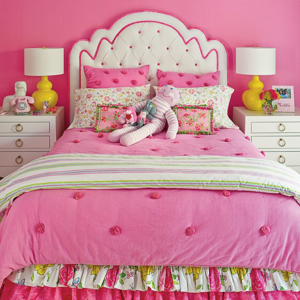 Best Hot Pink Bedroom Bright And Colorful Rooms Coastal Living With Pictures