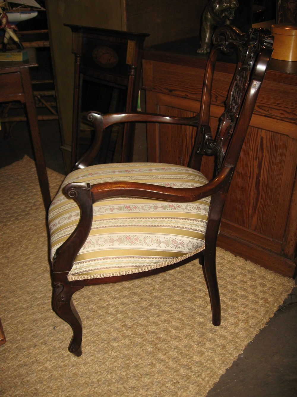 Best Edwardian Ladies Mahogany Bedroom Chair Antiques Atlas With Pictures