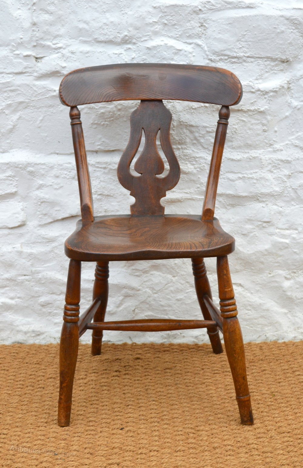 Best Pretty 19Thc Elm Bedroom Chair Antiques Atlas With Pictures