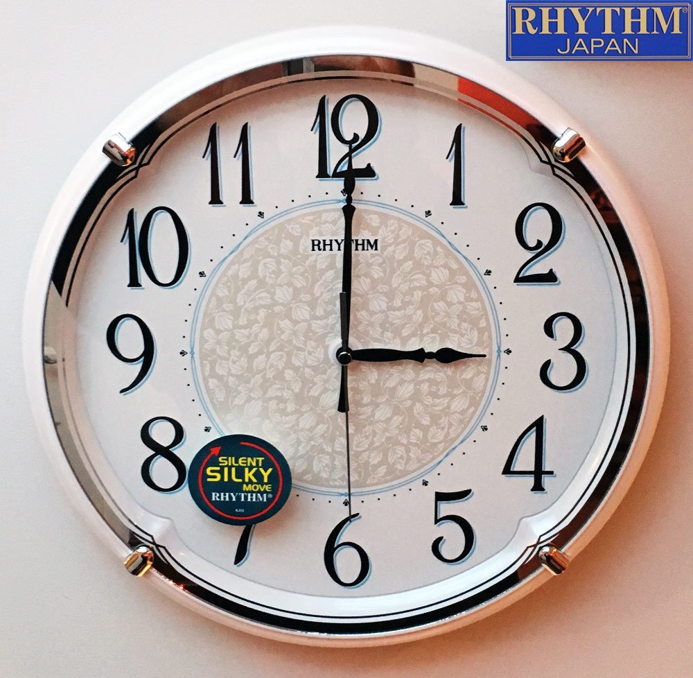 Best New Kitchen Home Wall Clock Retro Pearl Print Arabic Dial With Pictures