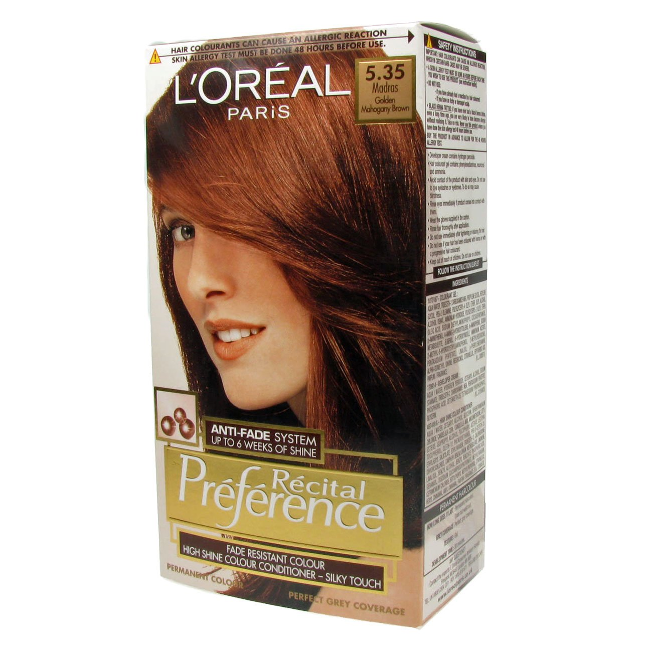 Free L Oreal Recital Preference Permanent Hair Color 535 Wallpaper