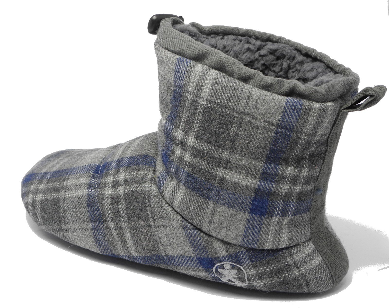 Best Mens Bedroom Athletics Brushed Cotton Soft Fleece Fur Boot With Pictures