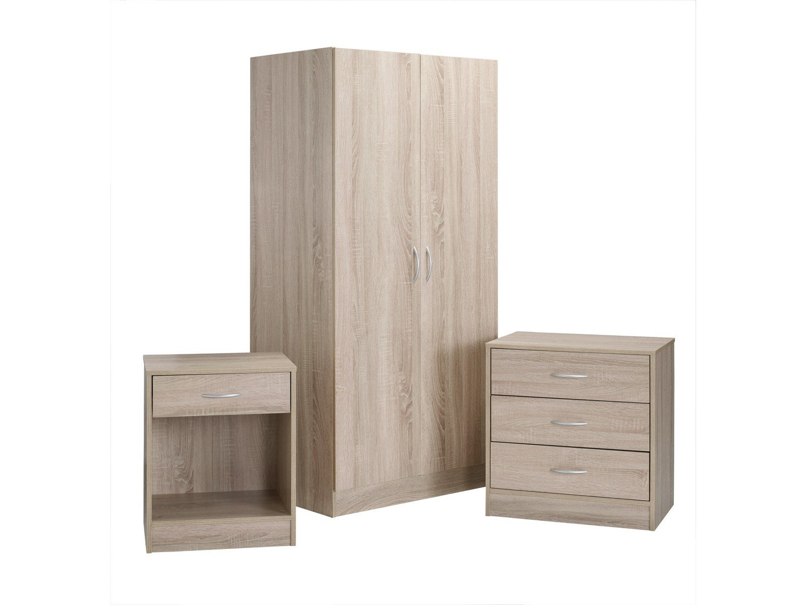 Best Delta Sonoma Oak Bedroom Furniture Collection Wardrobe With Pictures