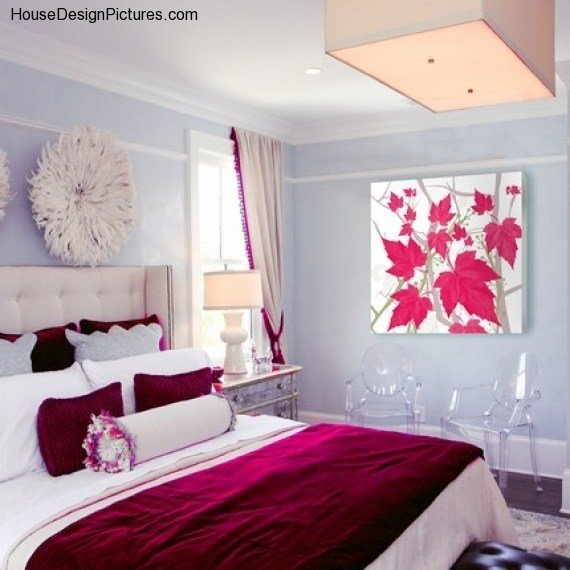 Best Pretty Bedroom Paint Colors Housedesignpictures Com With Pictures