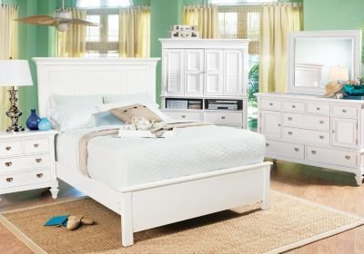 Best Belmar Queen White 5Pc Panel Bedroom Bedroom Sets With Pictures
