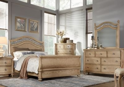 Best Laurel View Sand 5 Pc King Sleigh Bedroom King Bedroom With Pictures