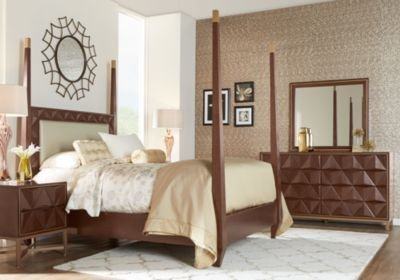 Best Sofia Vergara Vallejo Cherry 6 Pc King Poster Bedroom With Pictures