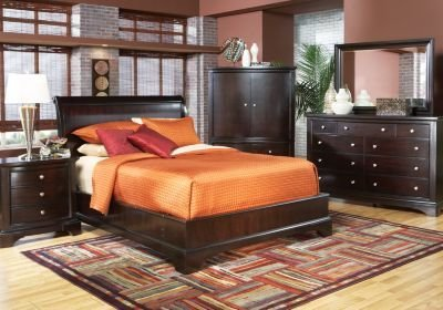 Best Whitmore Cherry 5 Pc King Bedroom Bedroom Sets With Pictures