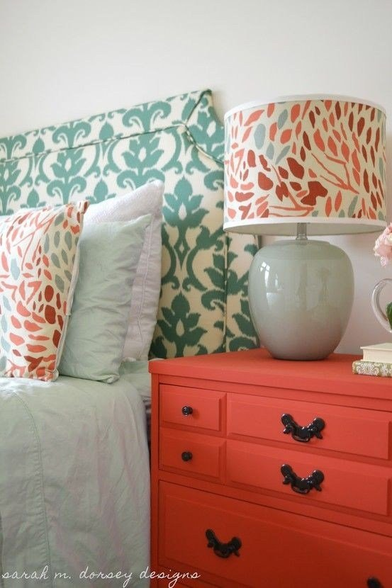 Best Bedroom Color Scheme Coral And Blue For Room In The With Pictures