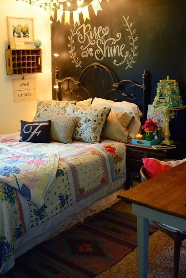 Best 27 Awesome Chalkboard Bedroom Ideas You'll Love Interior G*D With Pictures