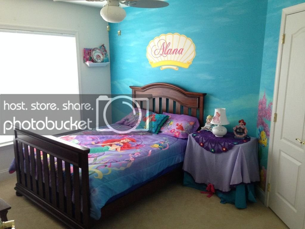 Best My Daughter S Little Mermaid Room The Dis Disney With Pictures