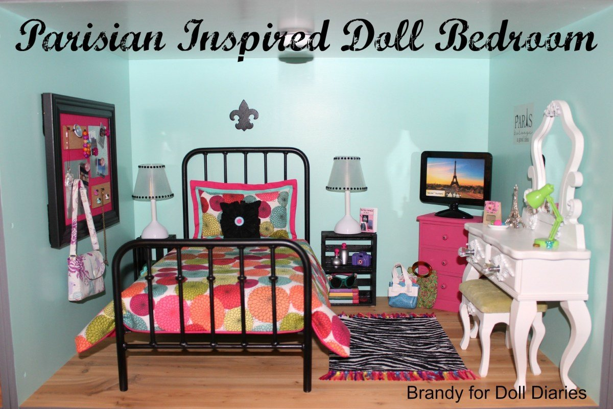 Best Parisian Inspired Doll Bedroom Doll Diaries With Pictures