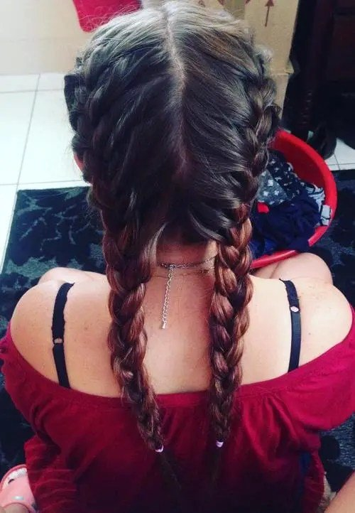 Free 40 Two French Braid Hairstyles For Your Perfect Looks Wallpaper