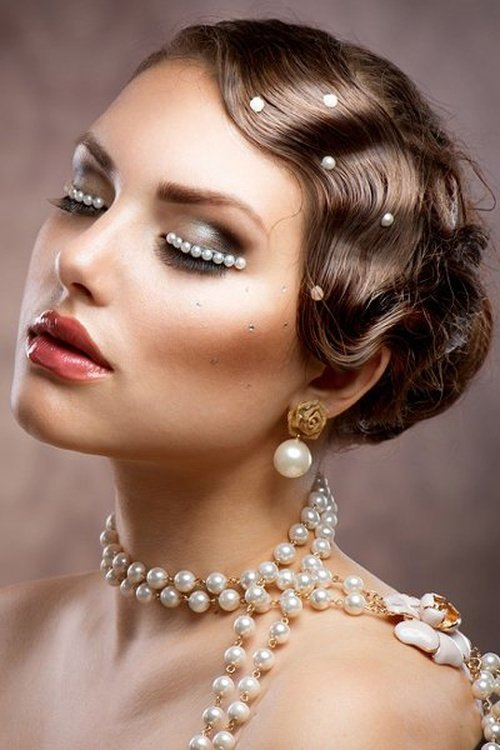 Free Wedding Curly Hairstyles – 20 Best Ideas For Stylish Brides Wallpaper