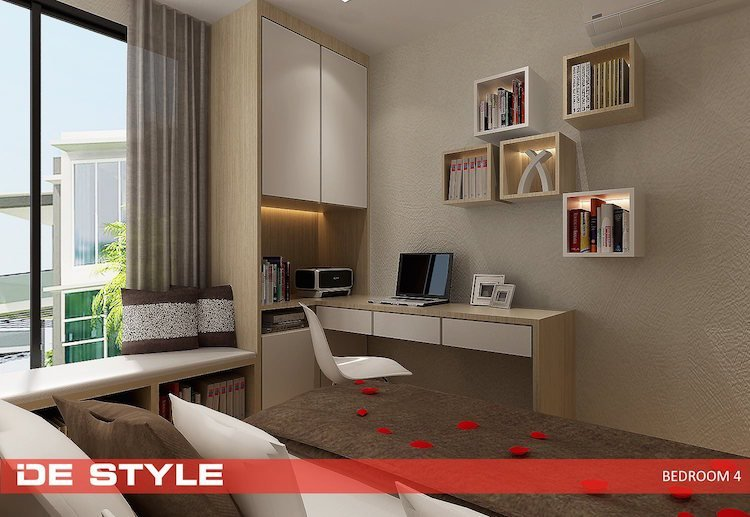 Best Design Ideas For Hdb Condo Study Bedroom Interior Design With Pictures