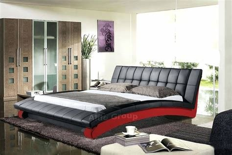 Best King Size Modern Black Bedroom Set Made In Furniture Sets With Pictures