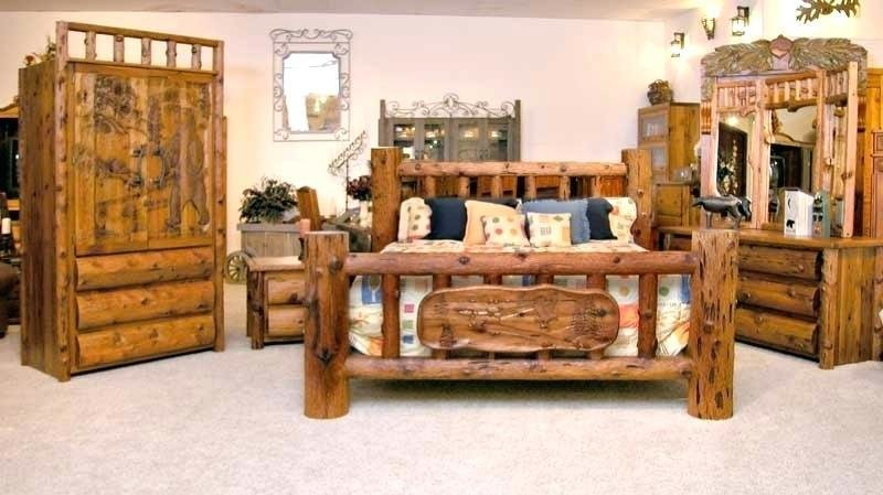 Best Log Cabin Furniture Rustic Black Forest Decor Within Lodge With Pictures