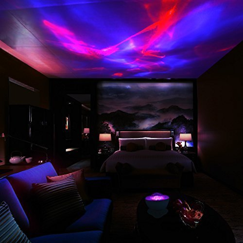 Best Scopow Night Light Lamp Aurora Projector And Speaker With Pictures