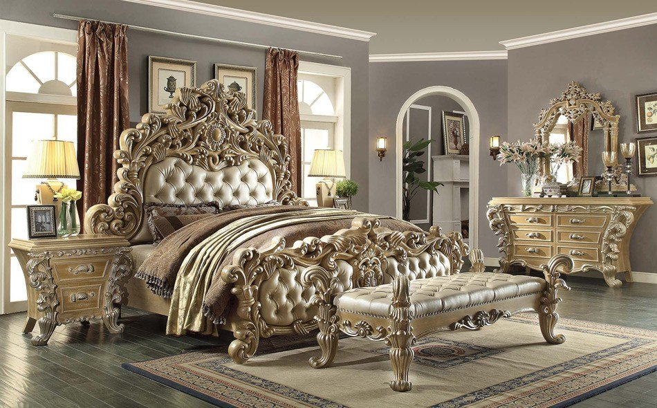 Best Ornate Bedroom Set Lasalle Home Furniture Mattress With Pictures