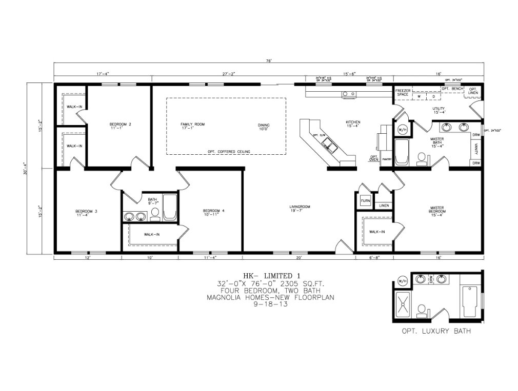 Best Magnolia Homes Model Hk Limited 1 4 Bedrooms 2 Baths With Pictures