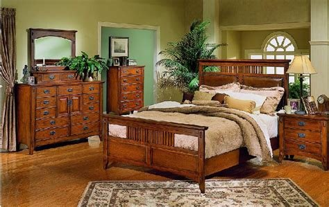 Best Mission Style Bedroom Set Marceladick Com With Pictures