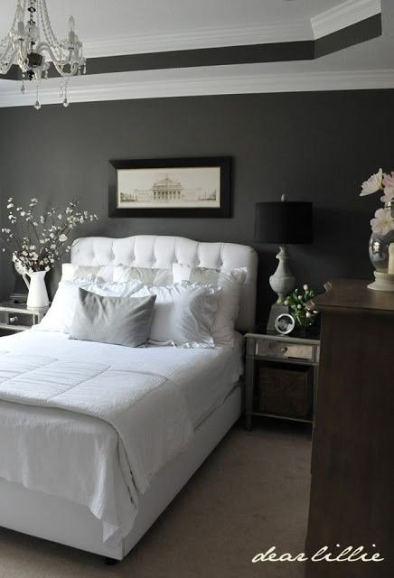 Best 22 Charcoal Grey Bedrooms Messagenote With Pictures
