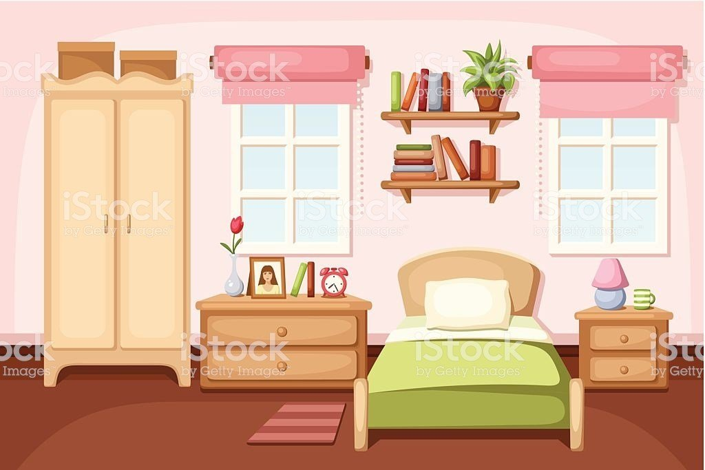 Best Bedroom Clip Art Vector Images Illustrations Istock With Pictures