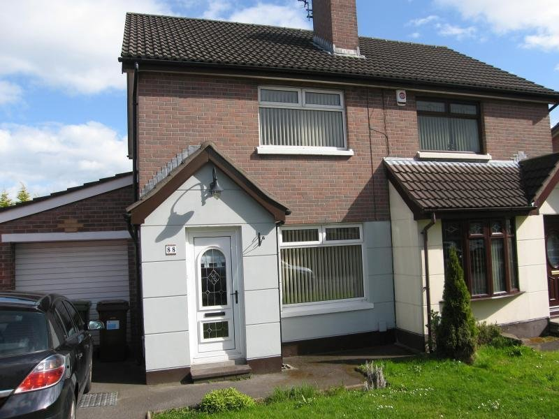 Best 2 Bedroom Semi Detached House To Rent In Lagmore Meadows With Pictures