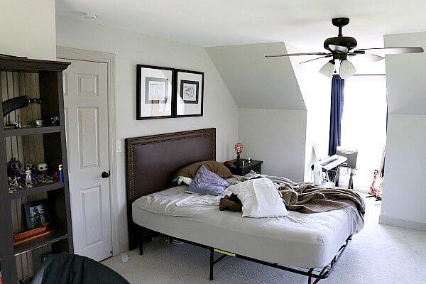 Best Budget T**N Boy Bedroom Reno Our Makeover Plan Noting With Pictures