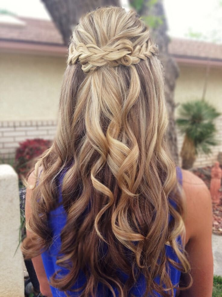 Free 15 Latest Half Up Half Down Wedding Hairstyles For Trendy Wallpaper