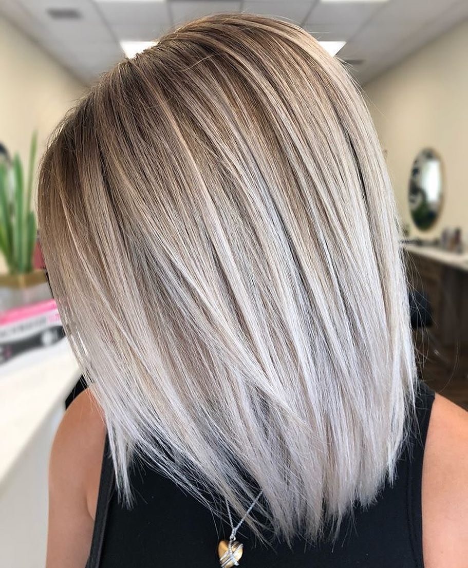 Free 10 Trendy Ombre And Balayage Hairstyles For Shoulder Wallpaper