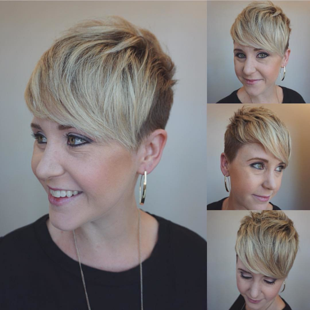 Free 10 Trendy Very Short Haircuts For Female Cool Short Hair Wallpaper