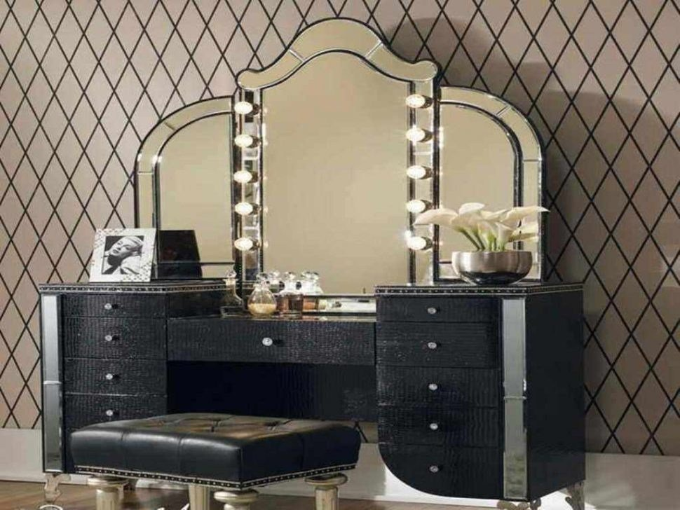 Best Download Interior Vanities For Bedroom With Lights With Regard To Provide Household With With Pictures