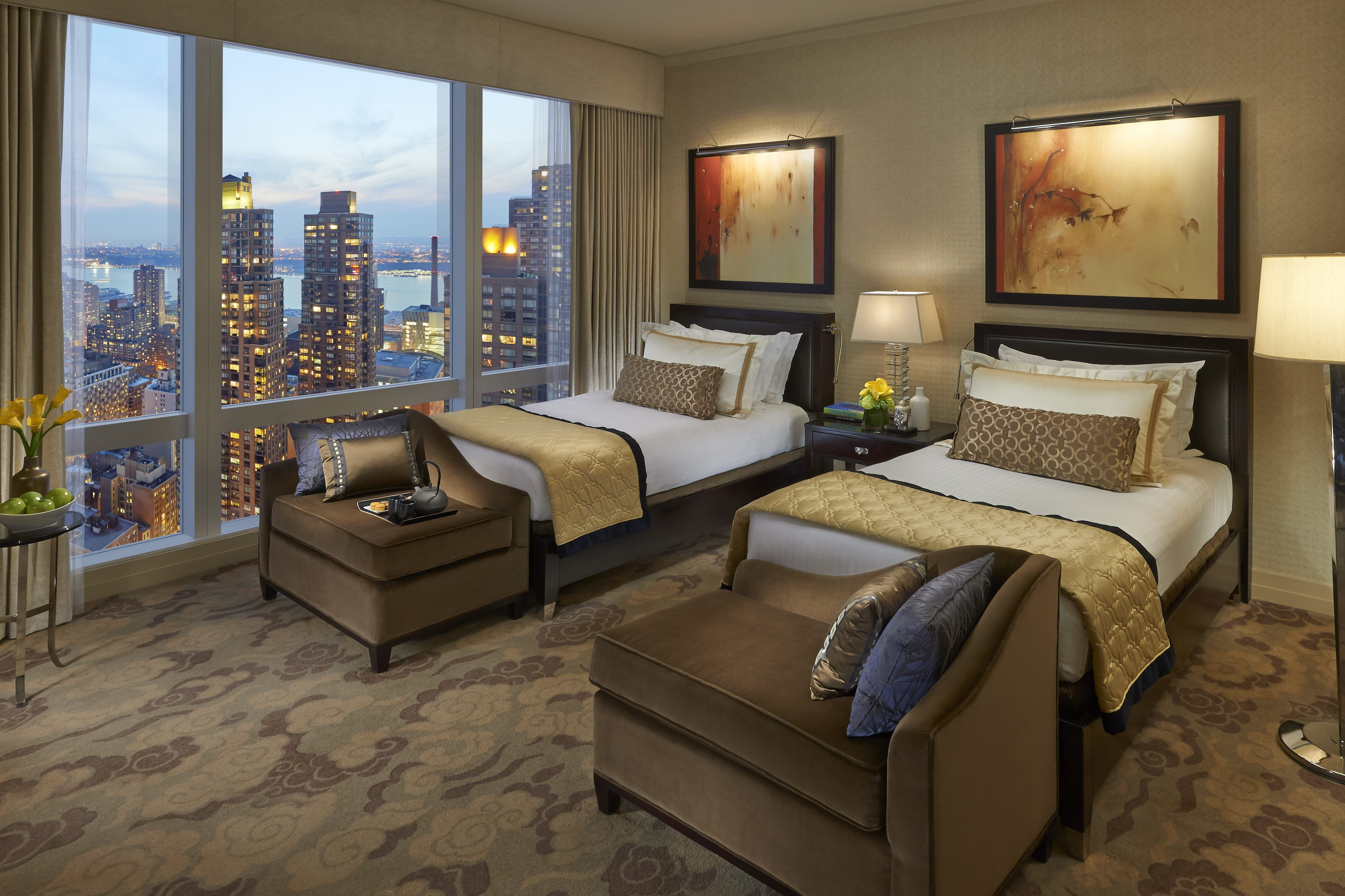 Best City View Hotel Rooms In New York City Mandarin Oriental With Pictures